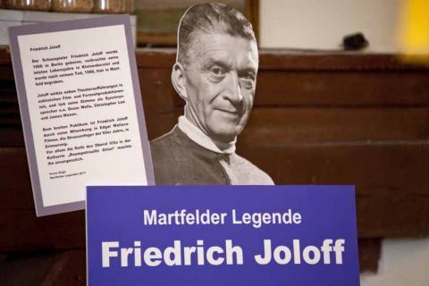 Friedrich Joloff Denkmal